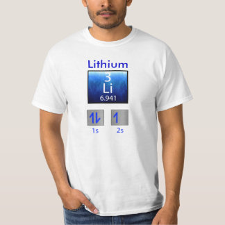 Science T-Shirt: Lithium T-Shirt