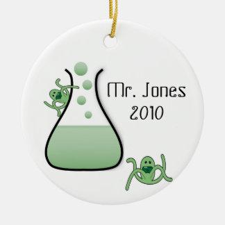 Science Teacher Christmas Ornament