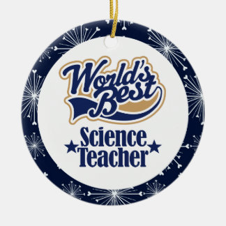 Science Teacher Gift Ornament