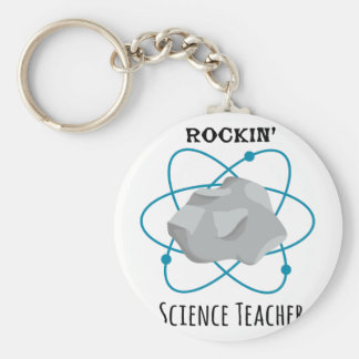 Science Teacher Keychain