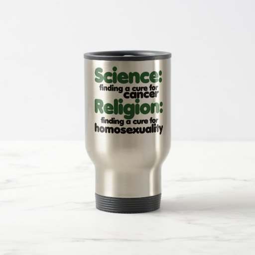 Science VS Religion Coffee Mugs