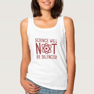 Science Will Not Be Silenced Tank Top
