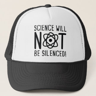 Science Will Not Be Silenced Trucker Hat