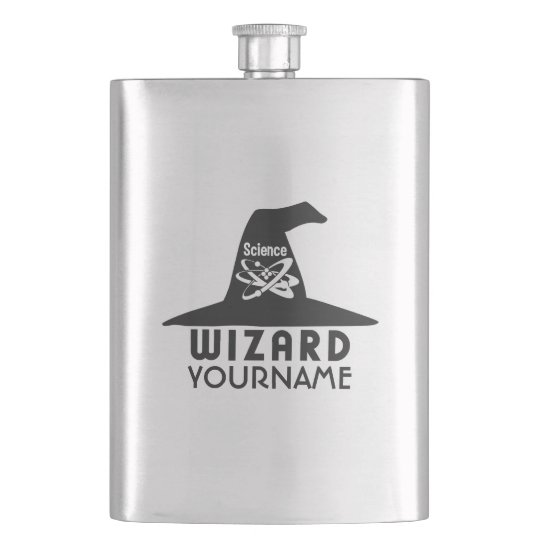Science Wizard custom flask