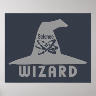 Science Wizard custom poster