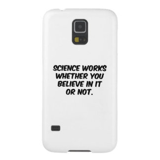 Science Works Galaxy S5 Covers