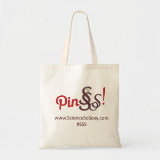 ScienceSoSexy tote bag - Pin SSS