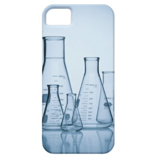 Scientific glassware blue iPhone 5 covers