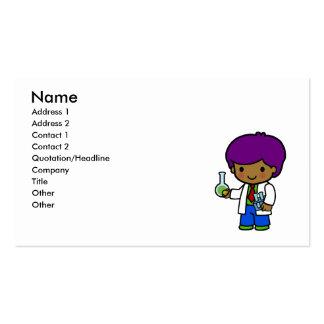 Scientist Boy Business Card