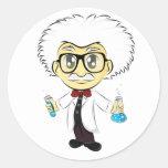 Scientist Classic Round Sticker