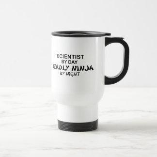 Scientist Deadly Ninja by Night Travel Mug