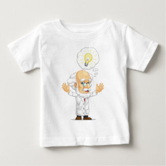 Scientist or Professor Having an Idea Baby T-Shirt