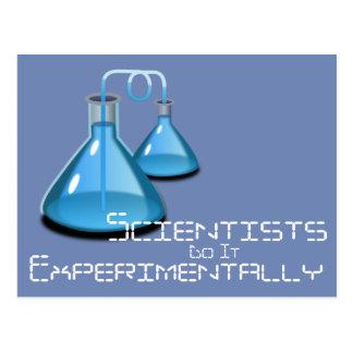 Scientists Do It Postcard