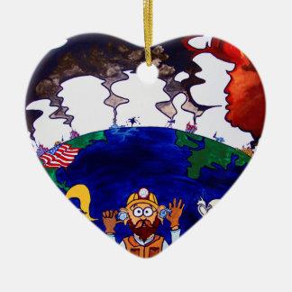 Scientists Muzzled_I Ceramic Ornament
