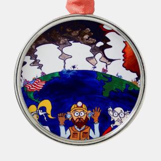 Scientists Muzzled_I Metal Ornament
