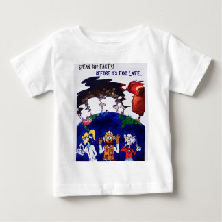Scientists Muzzled_tshirt with words Baby T-Shirt