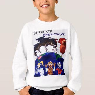 Scientists Muzzled_tshirt with words Sweatshirt