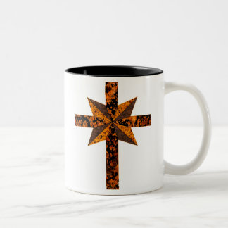 Scientology-Mottled Two-Tone Coffee Mug