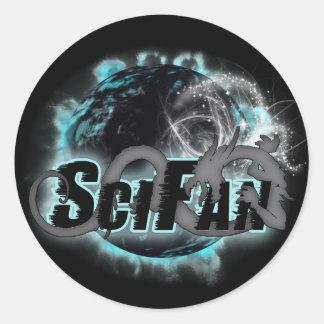 SciFan Dragon Logo Sticker
