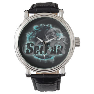 SciFan Dragon Logo Watch