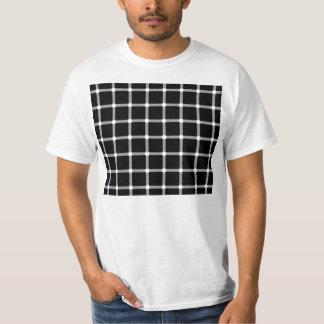 Scintillating Grid Optical Illusion T-Shirt