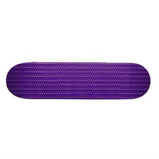 Scintillement pourpre de panneau de patin plateaux de planche à roulettes
