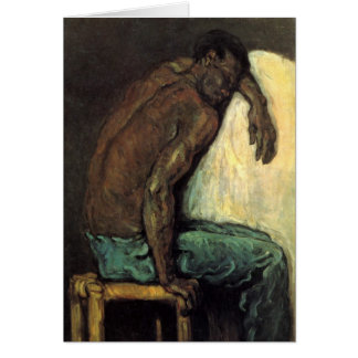 Scipio The Negro by Paul Cezanne Card