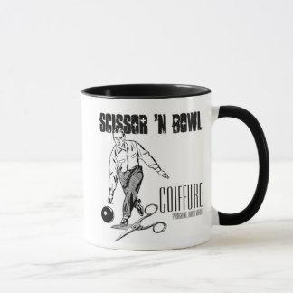 Scissor 'N Bowl Coiffure Mug