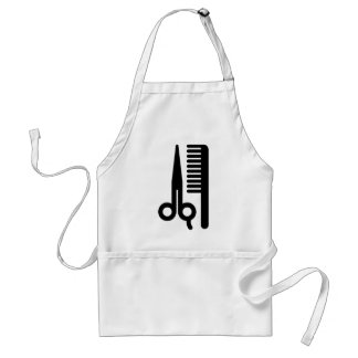 Scissors and Comb Standard Apron