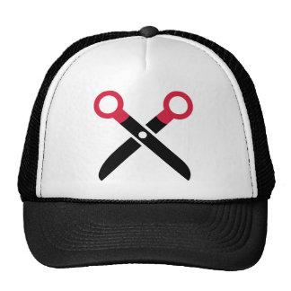 Scissors icon hats