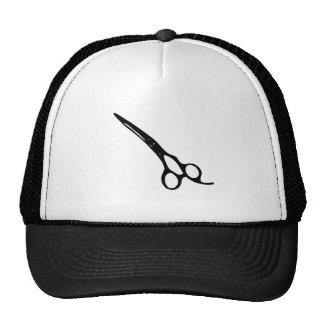 Scissors scissors; shears; clippers barber trucker hat