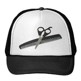 ScissorsComb052010 Trucker Hat