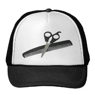 ScissorsComb052010 Trucker Hat