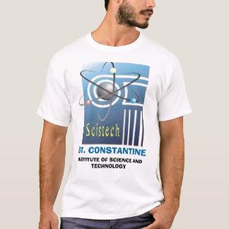 SCISTECHLOGO, ST. CONSTANTINE, INSTITUTE OF SCI... T-Shirt