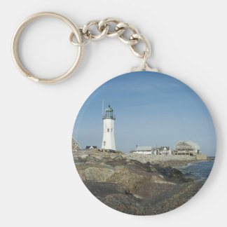Scituate Lighthouse Keychain