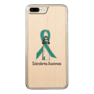 Scleroderma Lighthouse of Hope Carved iPhone 7 Plus Case