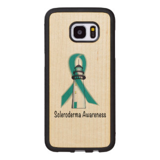 Scleroderma Lighthouse of Hope Wood Samsung Galaxy S7 Edge Case