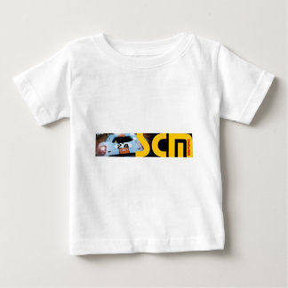 Scm Banner Logo with Car Baby T-Shirt
