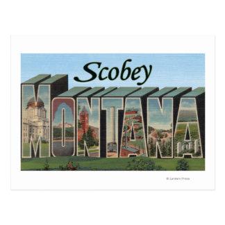 Scobey, Montana Postcard