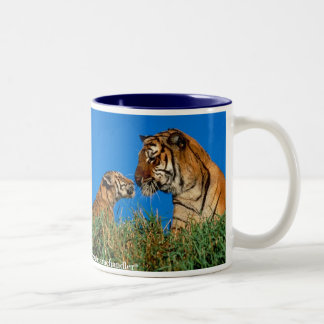 Scolding Tiger Mug