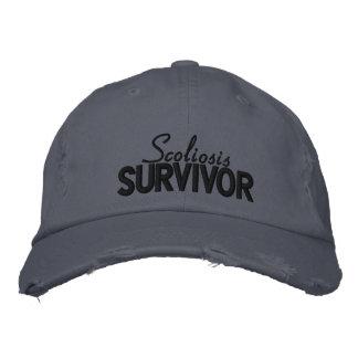 'Scoliosis Survivor' Embroidered Hat