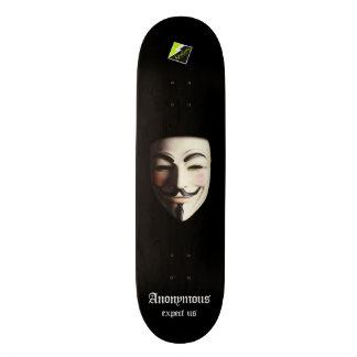 """Scolletta """"Anonymous"""" Deck 107 Skateboard Deck"""