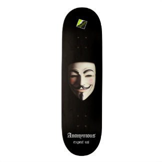 "Scolletta ""Anonymous"" Deck 107 Skateboards"