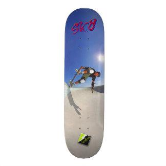 "Scolletta ""SK8"" Deck 103 Skateboard Deck"