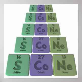 Scone-S-Co-Ne-Sulfur-Cobalt-Neon.png Poster