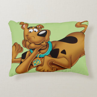 Scooby Doo Airbrush Pose 13 Decorative Pillow