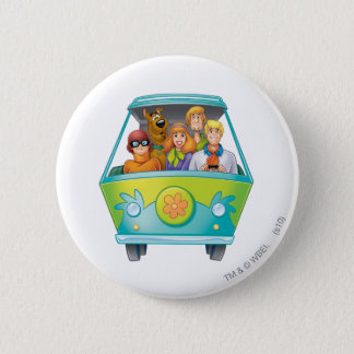 Scooby Doo Airbrush Pose 25 2 Inch Round Button