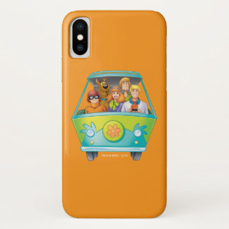 Scooby Doo Airbrush Pose 25 iPhone X Case
