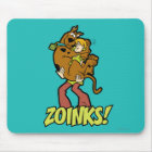Scooby-Doo and Shaggy Zoinks! Mouse Pad