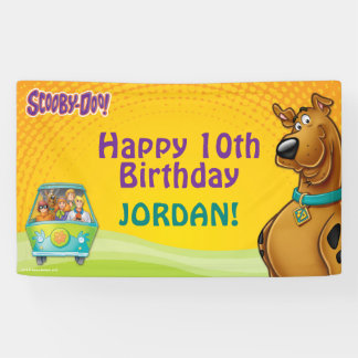 Scooby Doo Birthday Banner